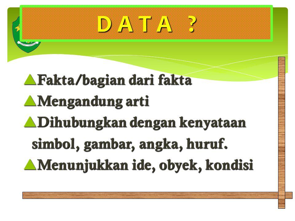 D A T A .
