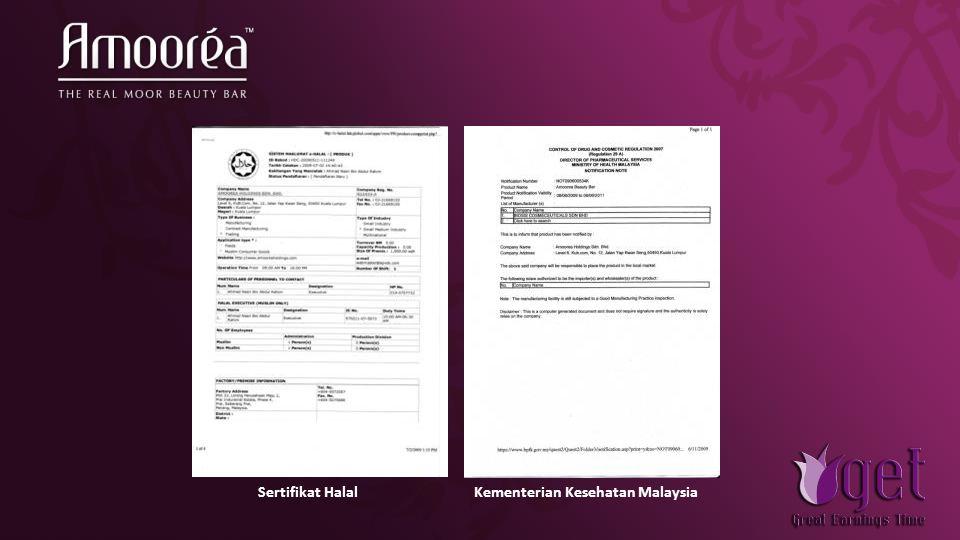 Sertifikat Halal Kementerian Kesehatan Malaysia