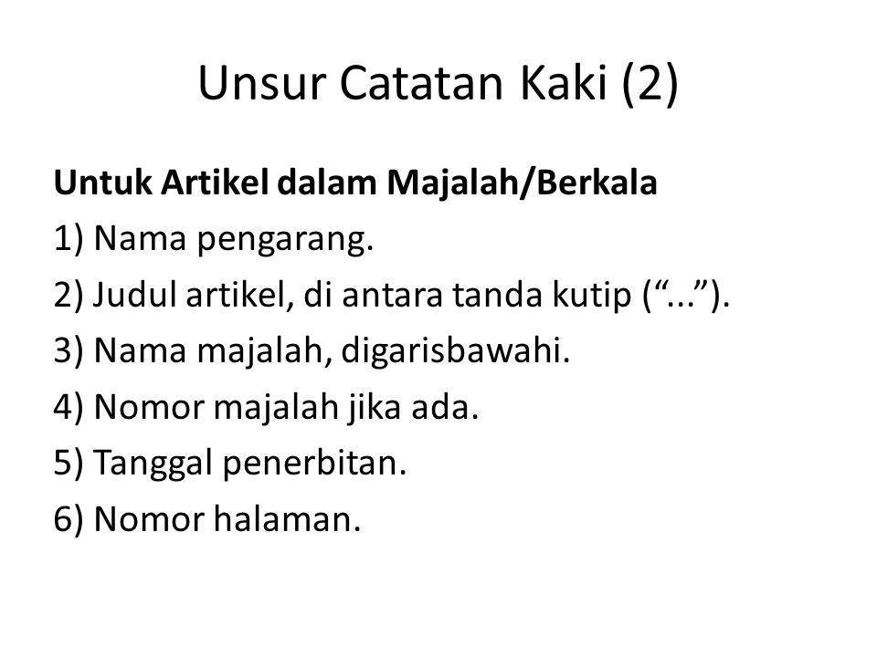 Singkatan (A)Ibid.