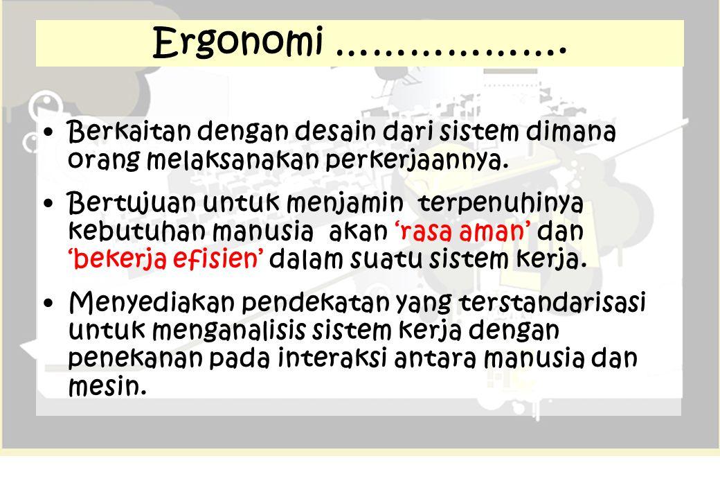 H e H e M H = Human = Machine M = Environment e Complex Ergosystems M M M M H HH