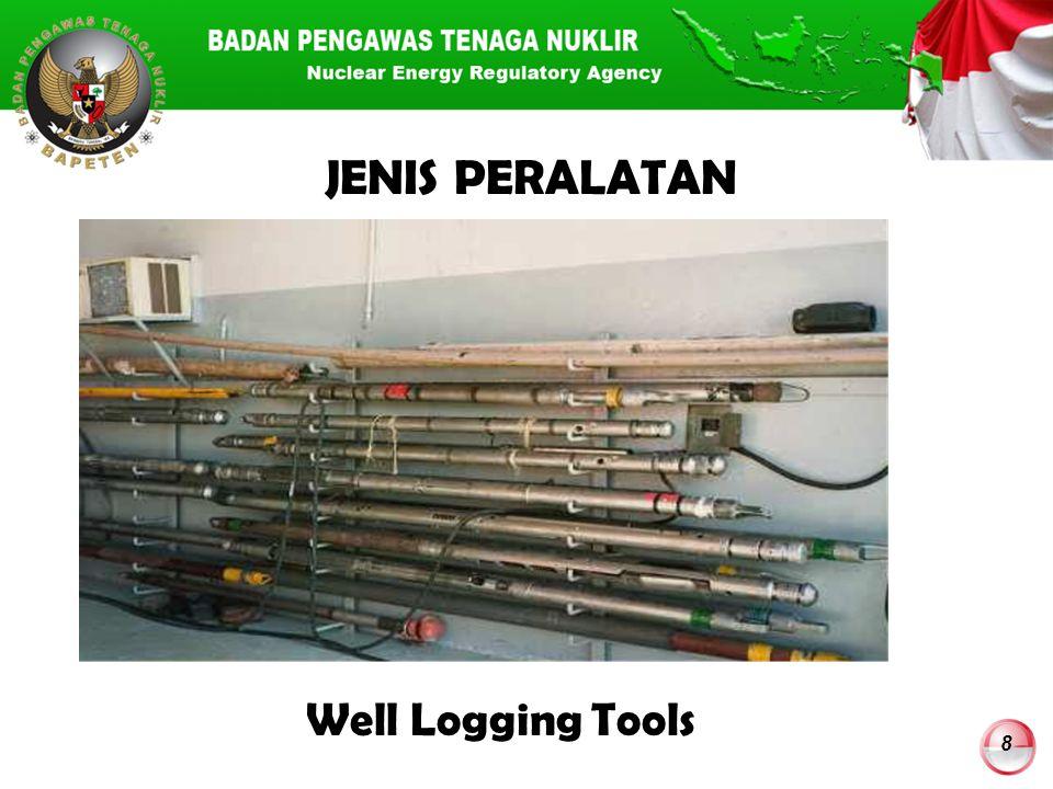 8 JENIS PERALATAN Well Logging Tools