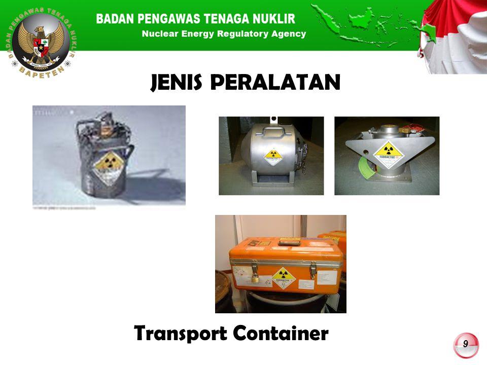 9 JENIS PERALATAN Transport Container