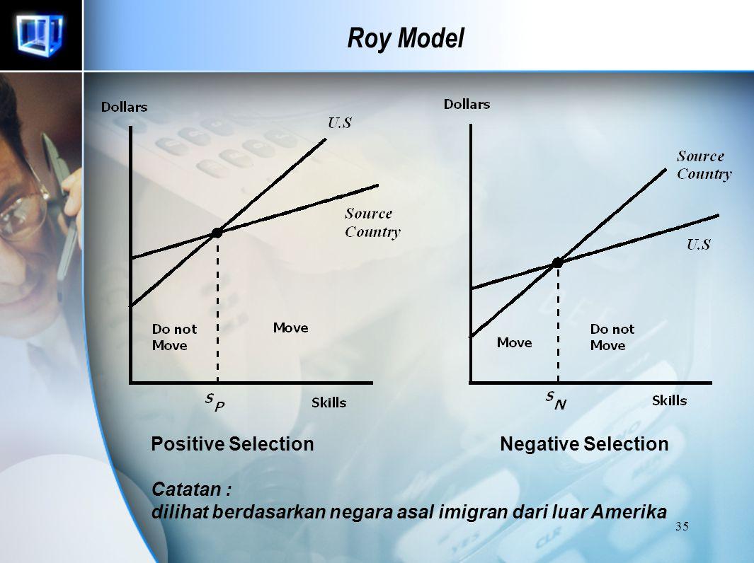 34 Roy Model