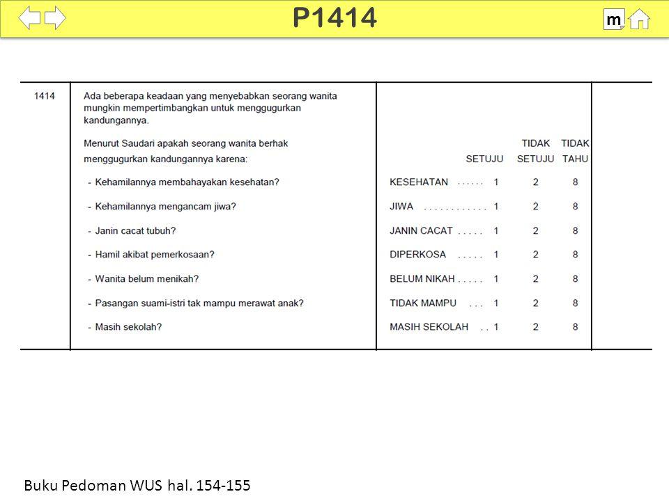 P1414 m Buku Pedoman WUS hal. 154-155