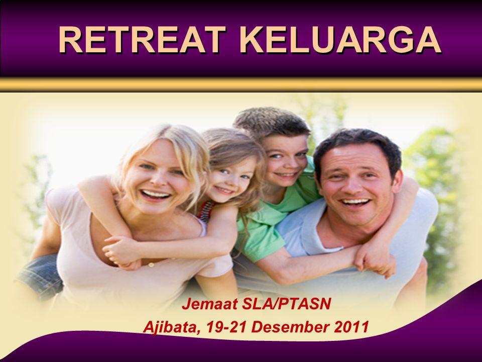 RETREAT KELUARGA Jemaat SLA/PTASN Ajibata, 19-21 Desember 2011