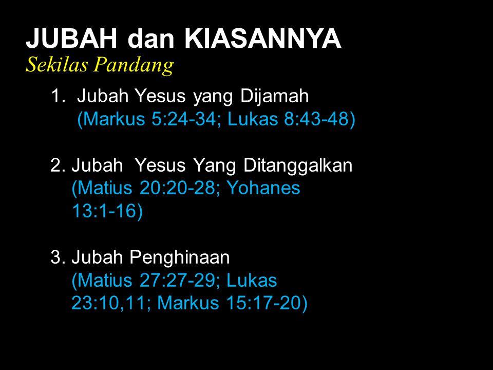 Black JUBAH dan KIASANNYA Sekilas Pandang 1.