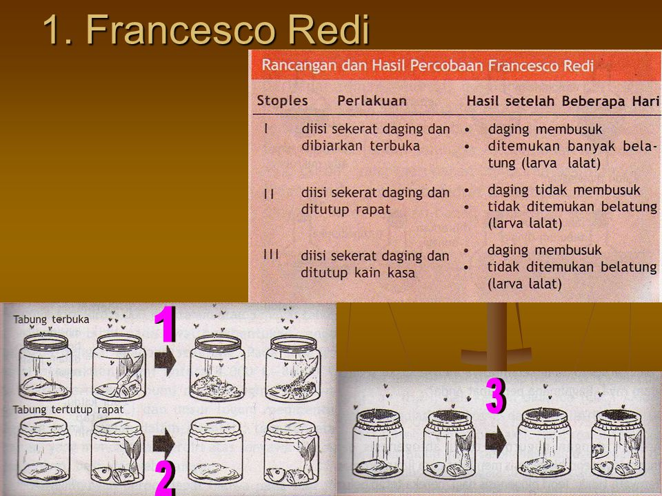 1. Francesco Redi