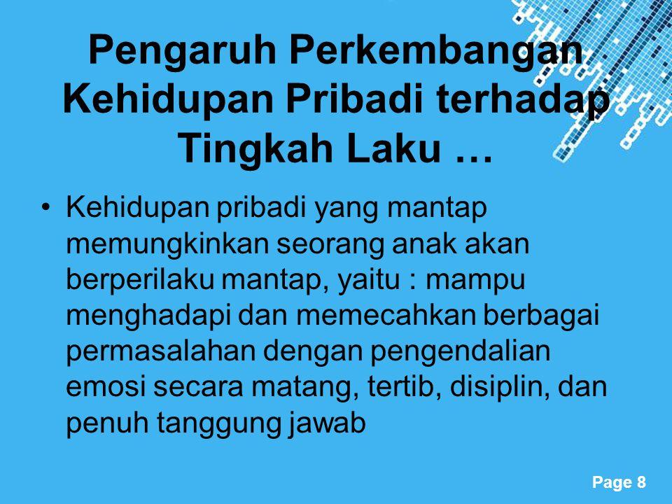 Powerpoint Templates Page 19 Mengatasi Masalah Sistem pendidikan di Indonesia  Remaja dapat dibantu mengatasi masalah perkembangan dan pilihan karier melalui layanan bimbingan karier di SMP dan SMA melalui kegiatan: 1.