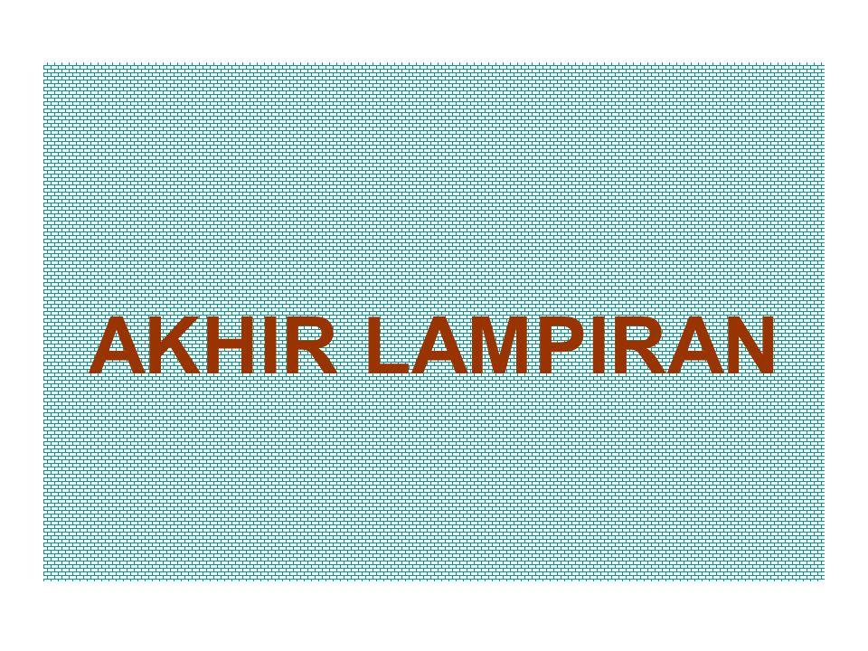 AKHIR LAMPIRAN