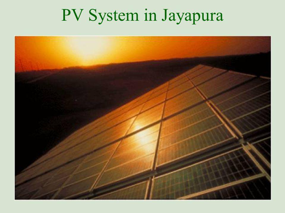 PV System in Jayapura