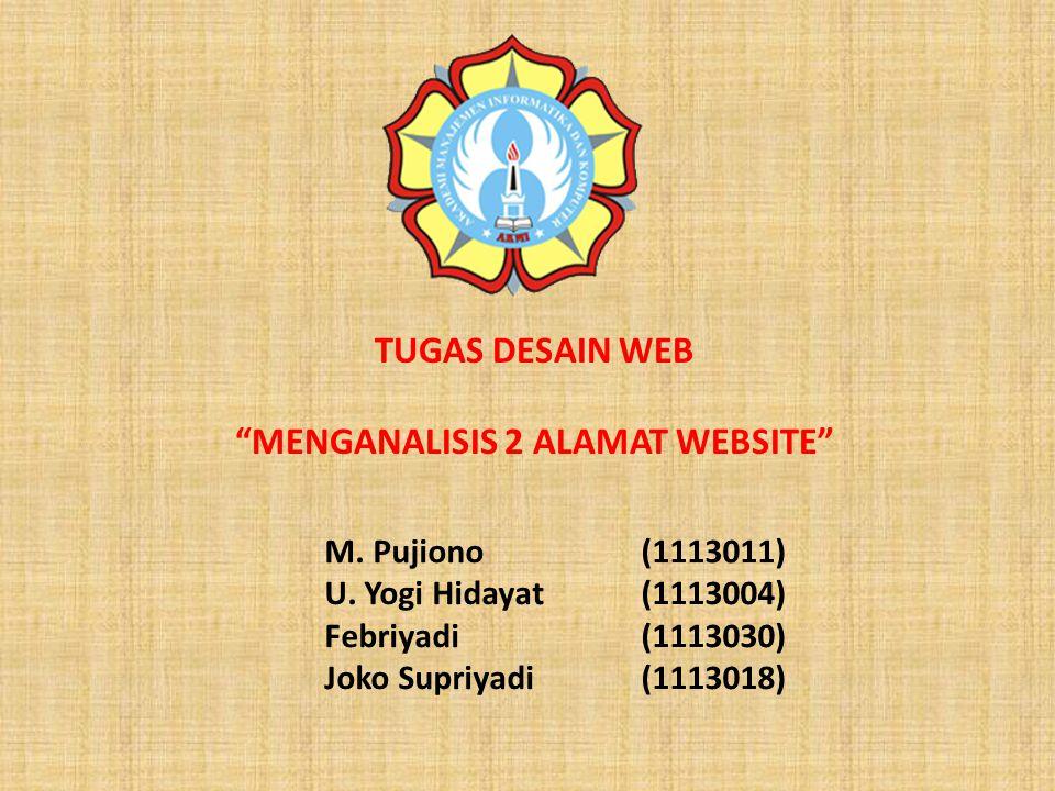 M. Pujiono(1113011) U.