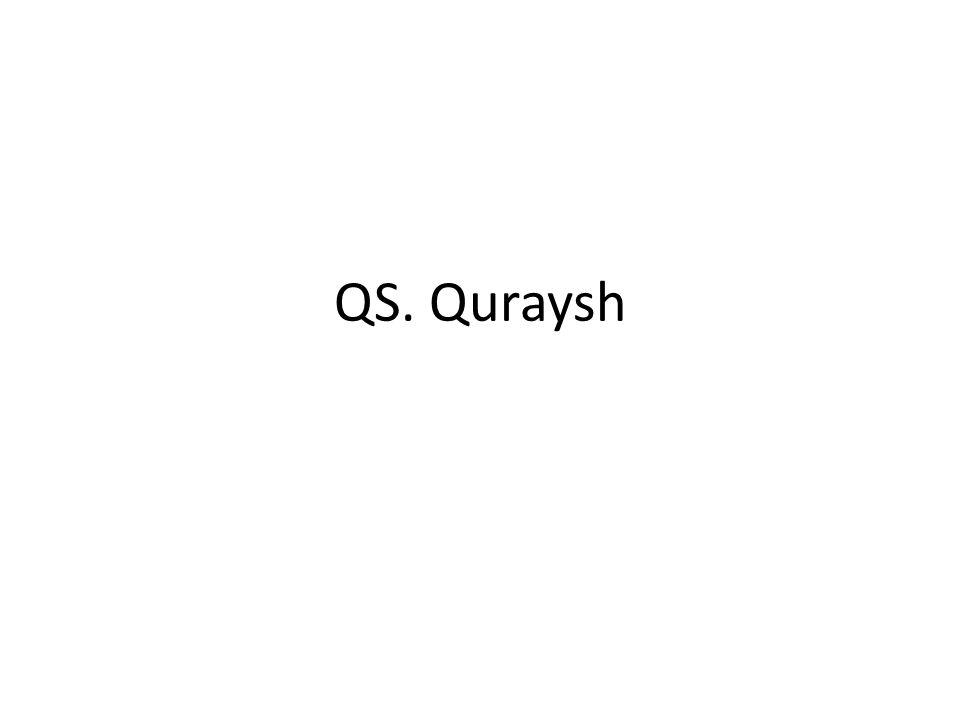 QS. Quraysh