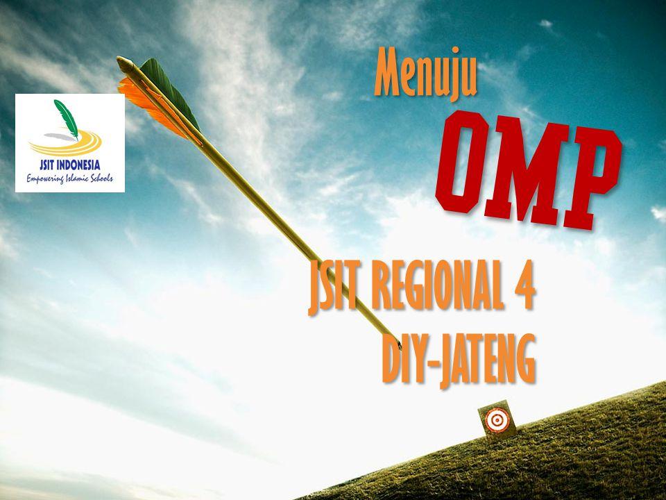 OMP JSIT REGIONAL 4 DIY-JATENG Menuju