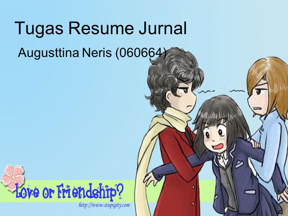 Tugas Resume Jurnal Augusttina Neris (060664)