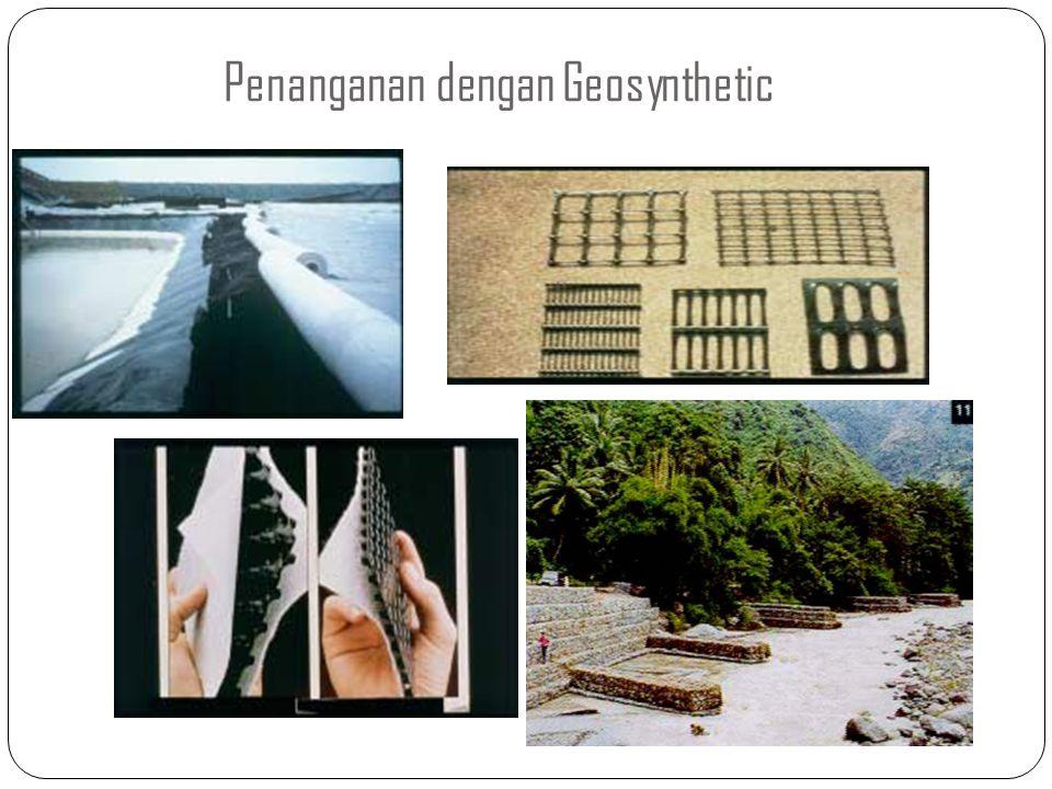 Penanganan dengan Geosynthetic