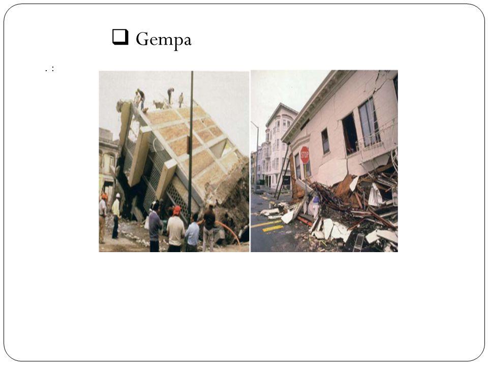  Gempa. :