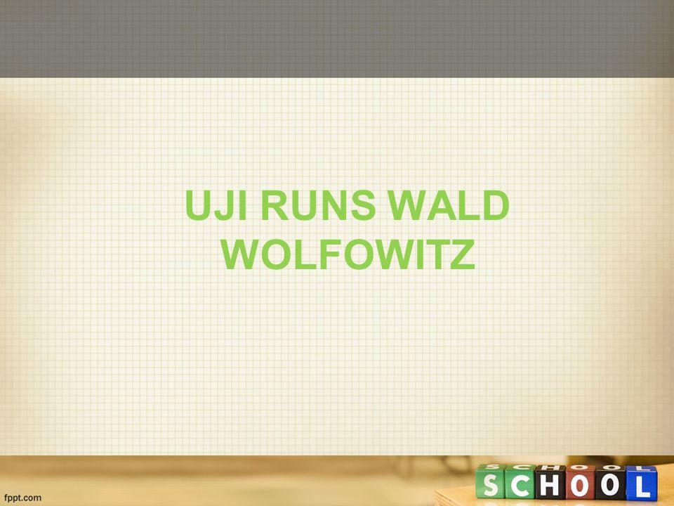 UJI RUNS WALD WOLFOWITZ
