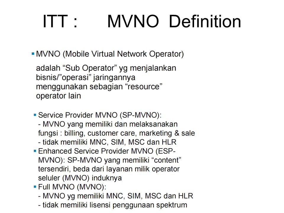 ITT : MVNO Definition