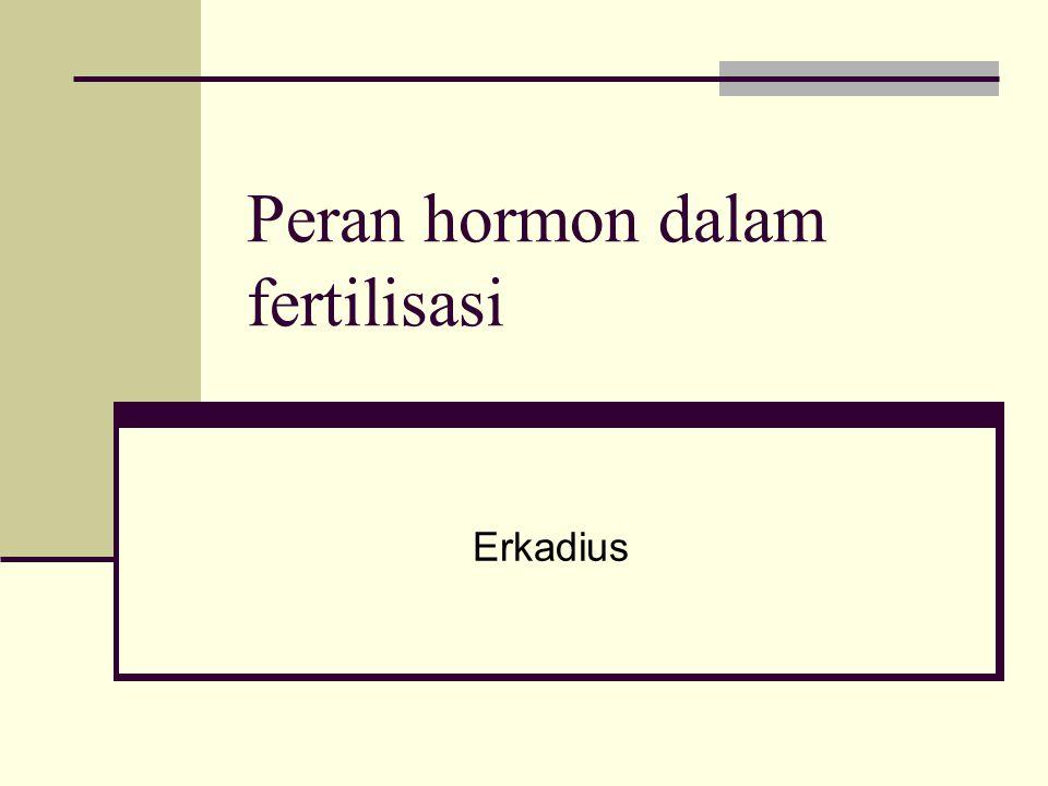 Peran hormon dalam fertilisasi Erkadius