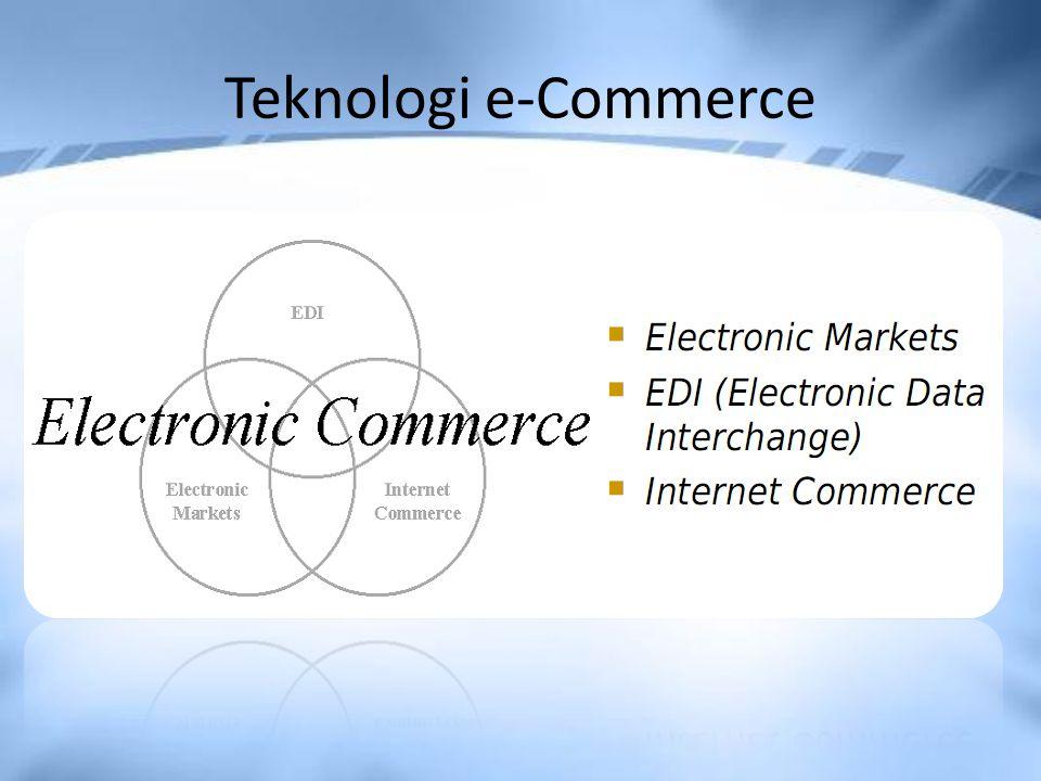Teknologi e-Commerce