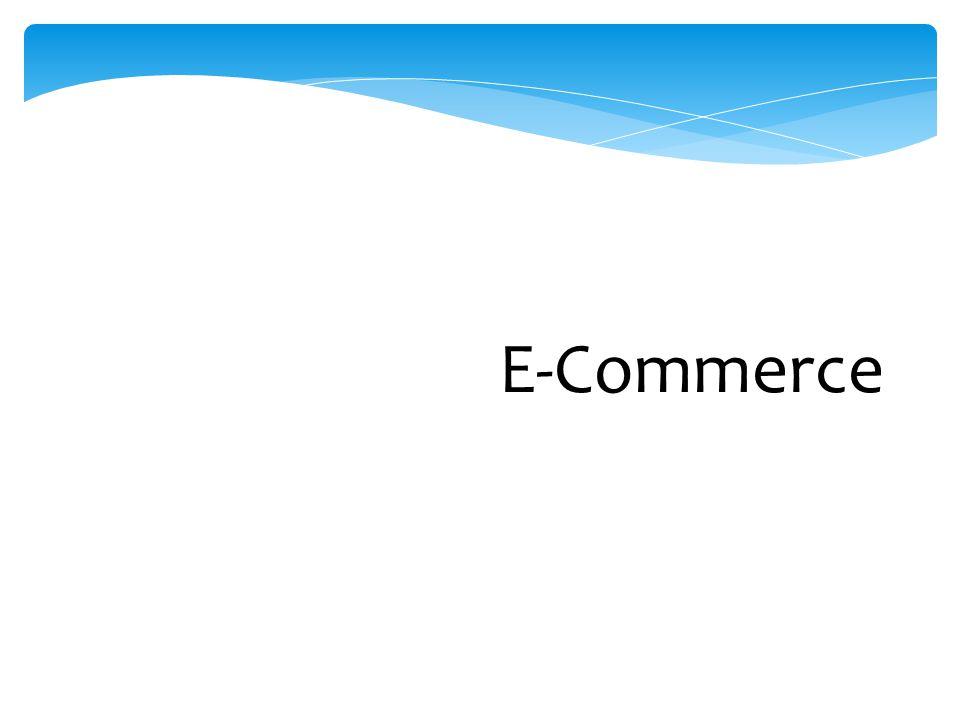 Klasifikasi EC menurut Pola Interaksi/Transaksi (lanjut)  mobile commerce (m-commerce): transaksi dan aktivitas EC dilakukan dengan teknologi wireless (misal telepon selular)  location-based commerce (l-commerce): transaksi m-commerce yang ditargetkan pada individu di lokasi dan waktu tertentu