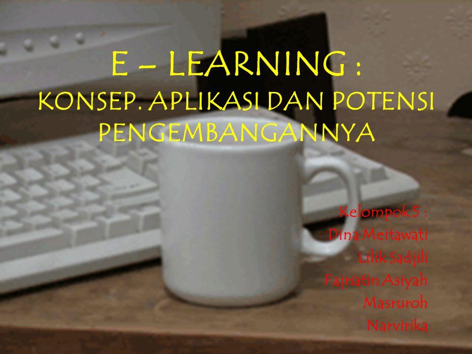 E – LEARNING : KONSEP.