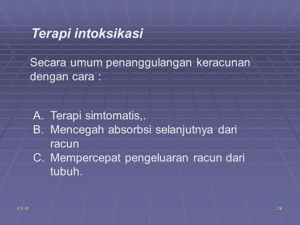 ER-1024 A.Terapi simtomatis,.