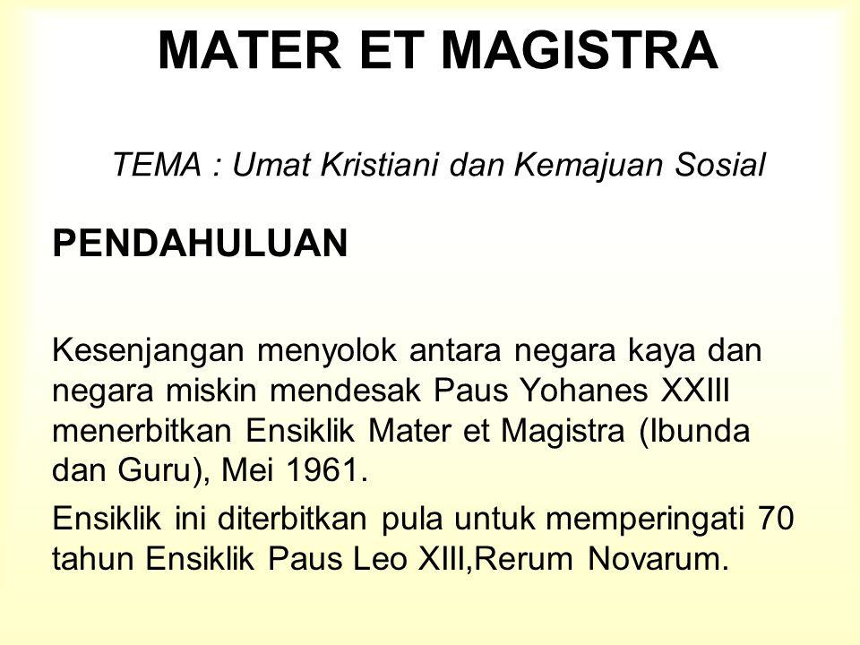 D.PEMULIHAN HUBUNGAN SOSIAL DALAM KEBENARAN, KEADILAN, DAN CINTA KASIH 3.