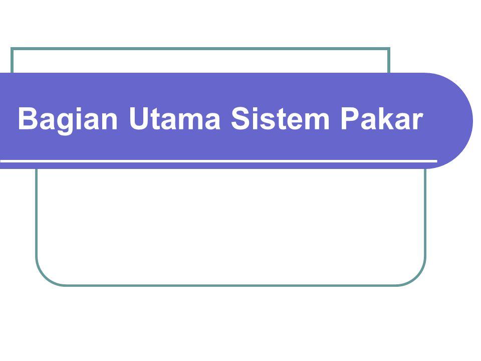 Ada 2 pendekatan dasar dalam pencipataan sistem pakar 1.