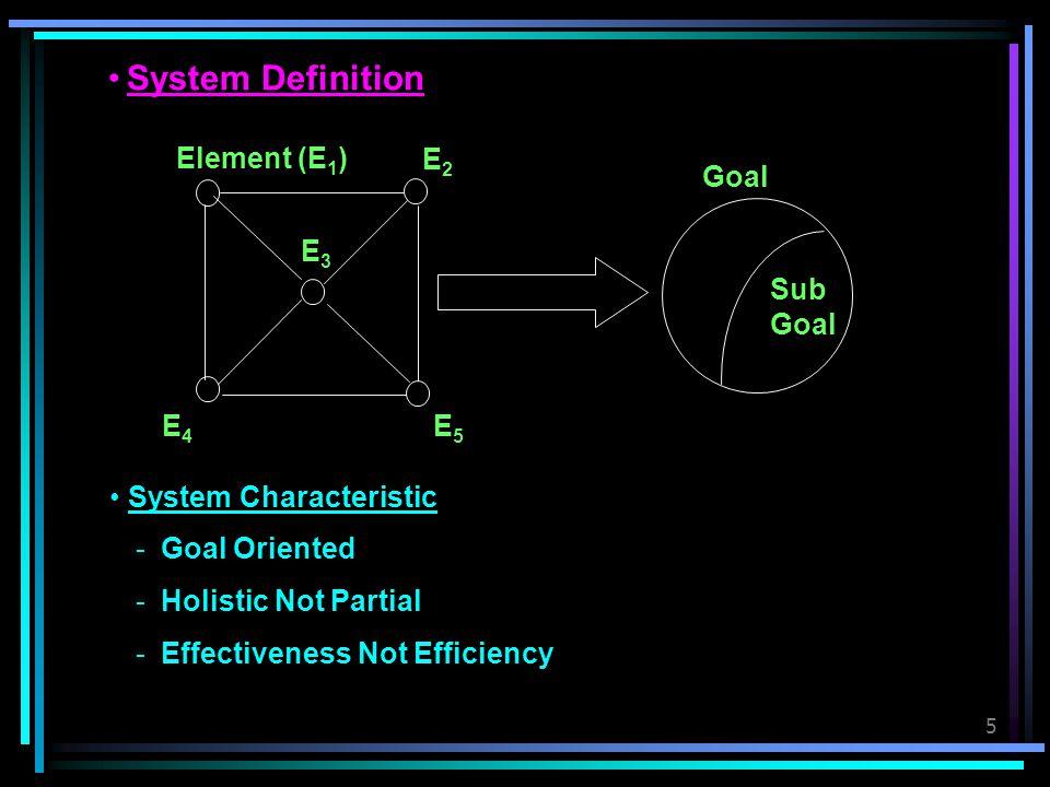 6 System Classification Matrix SystemInputProcessOutput Analysis  .