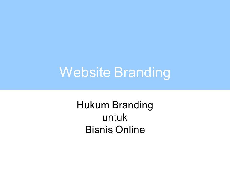 Website Branding Hukum Branding untuk Bisnis Online