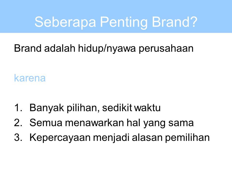 Seberapa Penting Brand.