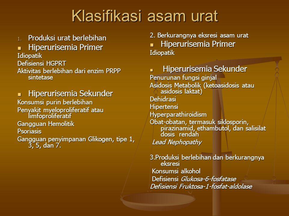Klasifikasi asam urat 1.