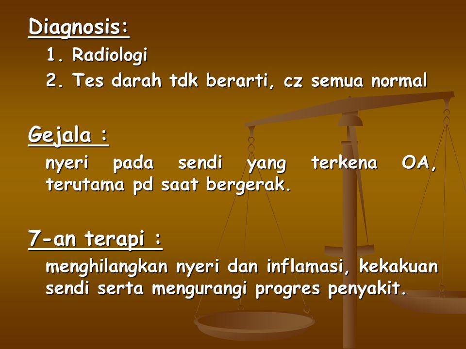 Diagnosis: 1.Radiologi 2.