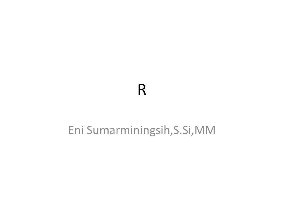 R Eni Sumarminingsih,S.Si,MM