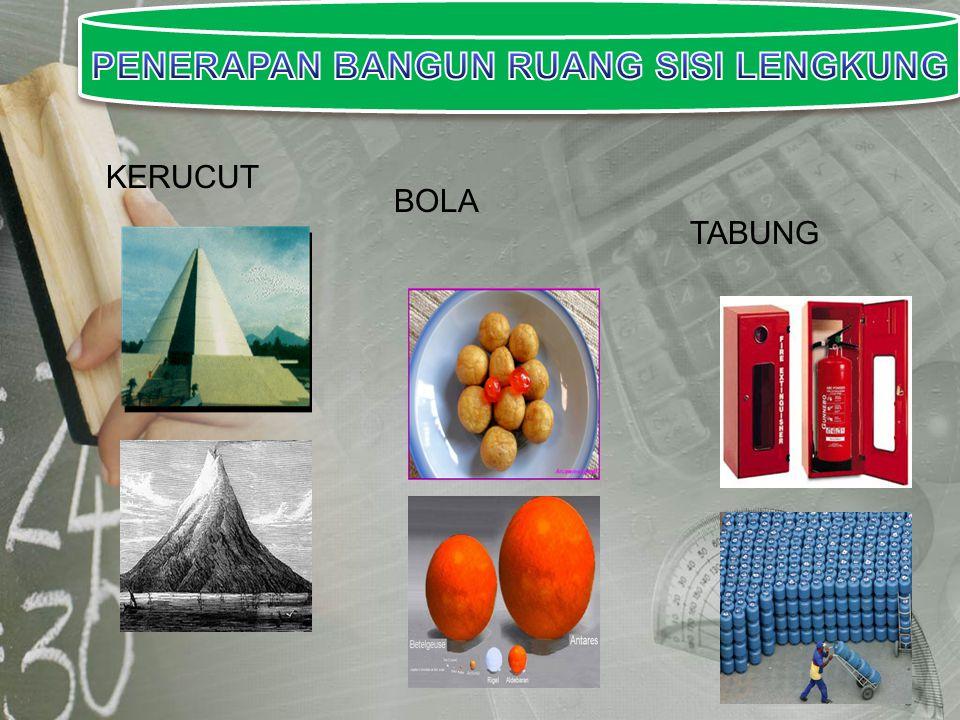 TABUNG KERUCUT BOLA