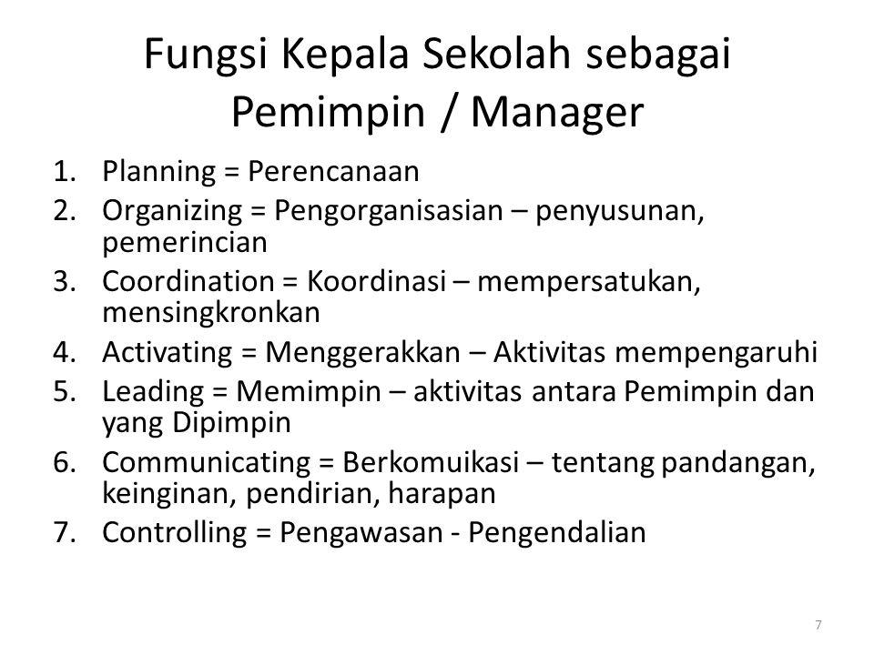 Peningkatan mutu ini merupakan hal yang amat sangat berat dilakukan oleh manager senior.