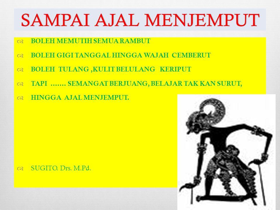  SUGITO. Rumah. Jl, Bulak jaya 3/8 semampir Surabaya  18 – MEI – 1948. DI WONOSOBO, JATENG.  Pekerjaan: Dosen DPK pada Pascasarjana UNIPA surabaya.
