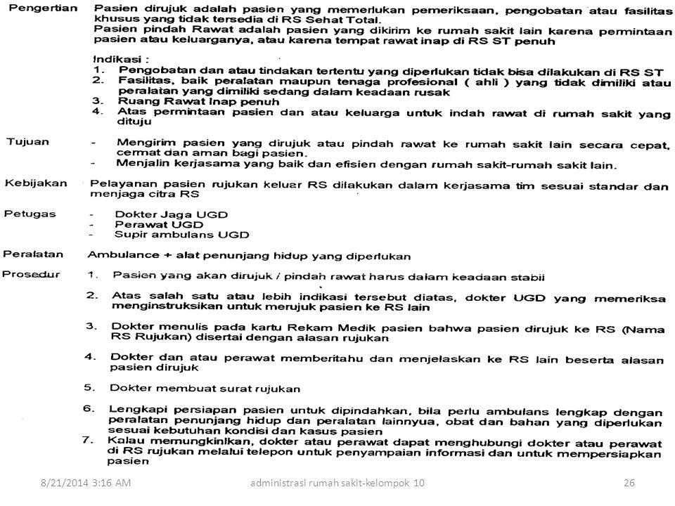 8/21/2014 3:18 AMadministrasi rumah sakit-kelompok 1026