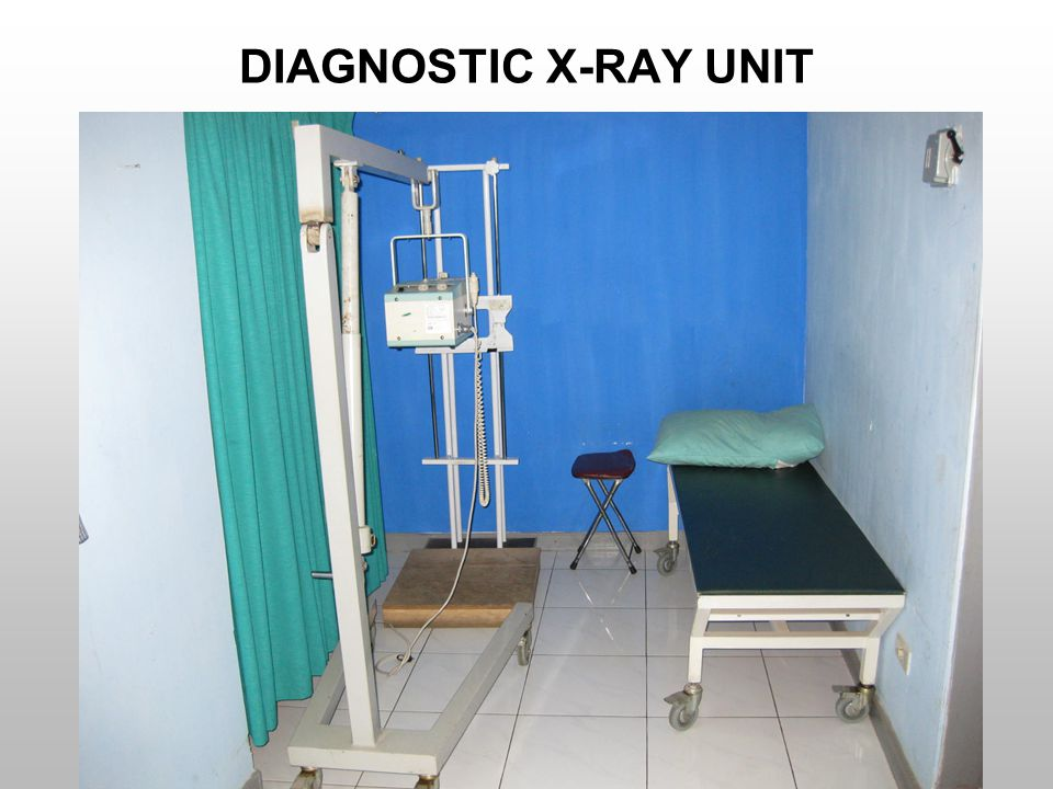 DIAGNOSTIC X-RAY UNIT