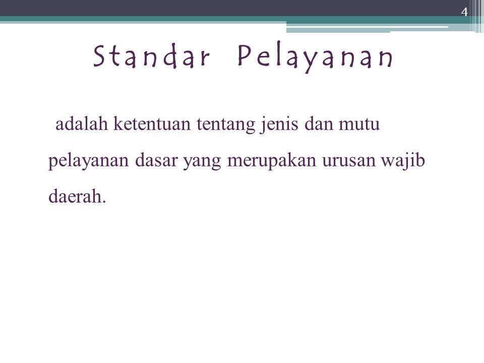 S T U D I K A S U S Masih banyaknya Rumah Sakit yang belum memenuhi SPM di Indonesia. 15