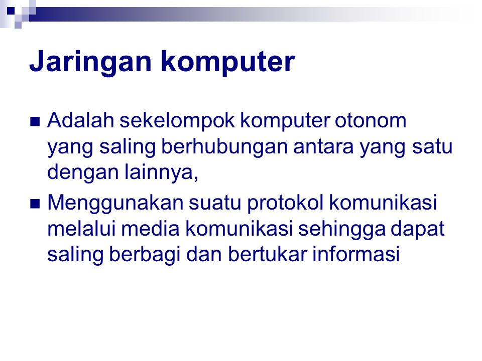 Proses Back-up Memilih data yang akan di back-up Menghubungkan dengan media penyimpanan (strorage) Pemilihan media penyimpanan untuk back-up