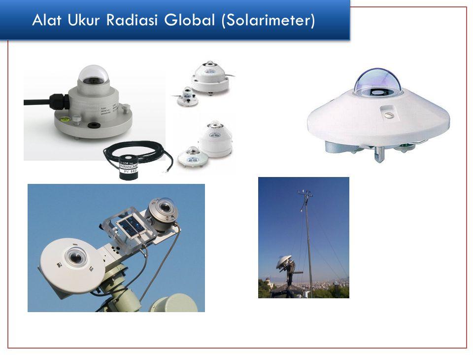 Alat Ukur Radiasi Global (Solarimeter)