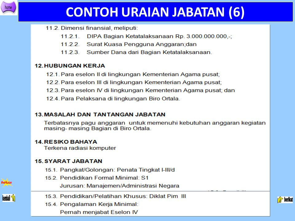 CONTOH URAIAN JABATAN (6)