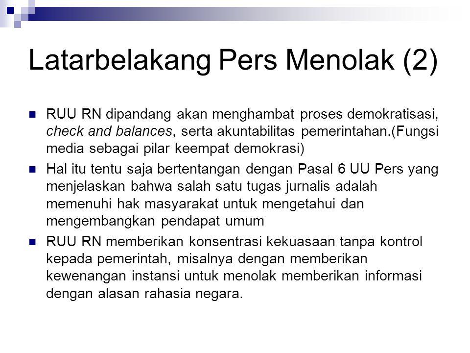 Kasus Berkaitan RUU RN (2) Masyarakat Anti Korupsi (MAK) di Solo, Jawa Tengah, mencurigai ada dugaan korupsi dalam pembangunan Masjid Agung.