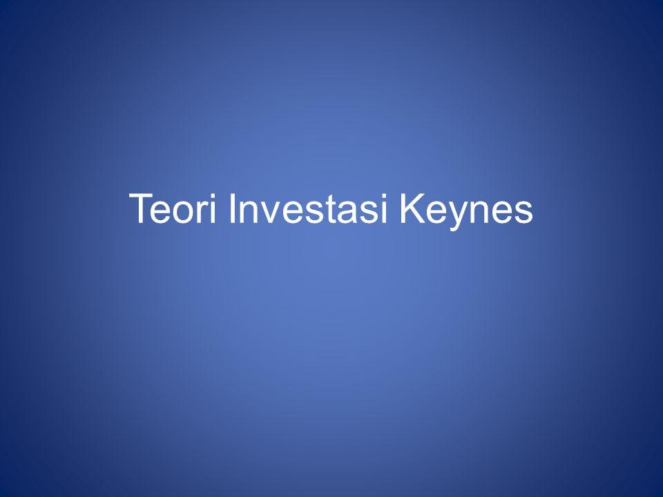 Teori Investasi Keynes