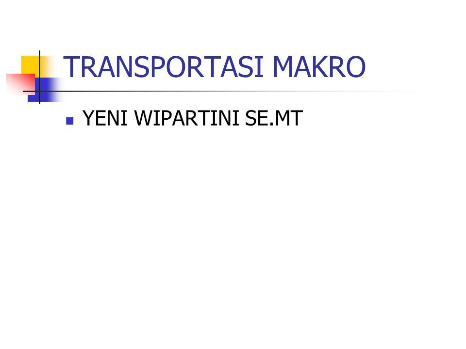 TRANSPORTASI MAKRO YENI WIPARTINI SE.MT
