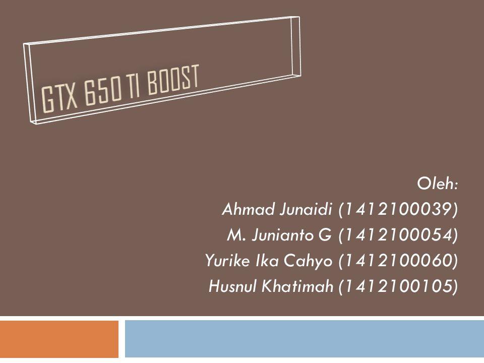 Oleh: Ahmad Junaidi (1412100039) M.