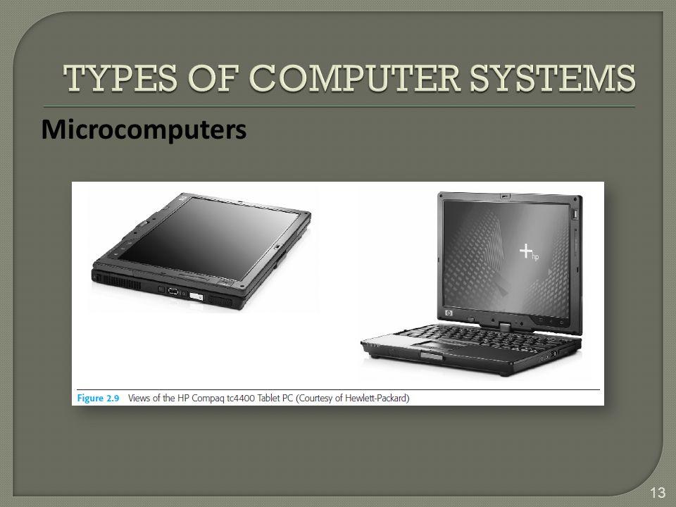 13 Microcomputers