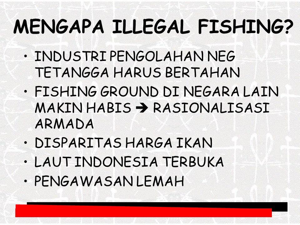 Dimana illegal fishing.